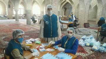 تصاویر / خدمات جهادی طلاب مدرسه علمیه صادقیه تبریز در مبارزه با کرونا