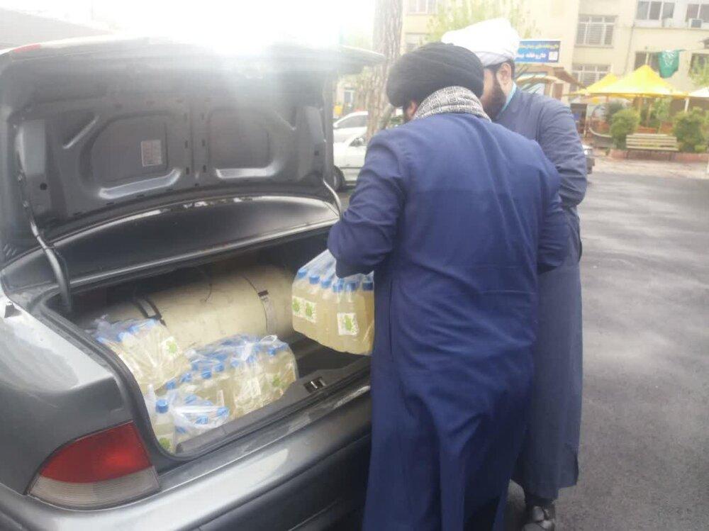 تهیه و توزیع آبمیوه بین بیماران کرونایی در بیمارستان های تهران+ عکس