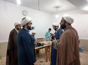 بازدید مدیرکل تبلیغات اسلامی خوزستان از کارگاه جهادی تولید شیلد پزشکی