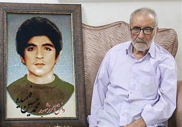 مشاورعالی وزیر آموزش و پرورش درگذشت پدر شهیدان فهمیده را تسلیت گفت