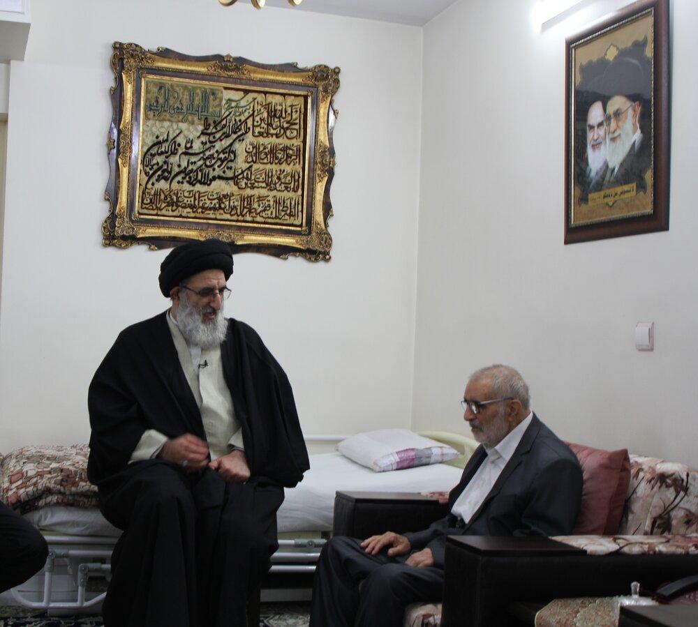 پیام تسلیت امام جمعه کرج در پی درگذشت پدر شهیدان فهمیده