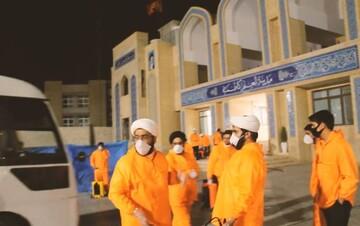 فیلم | تقدیر مردم یزد از فعالیتهای جهادی طلاب در مبارزه با کرونا