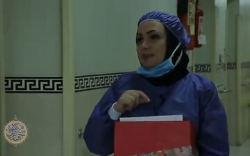 فیلم | تجلیل از پزشکان و پرستاران خط مقدم مبارزه با کرونا