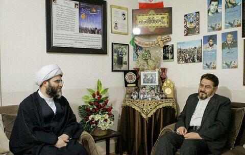 حجت الاسلام محمد قمی رئیس سازمان تبلیغات اسلامی