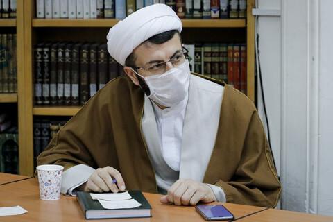 نشست معاونان مرکز مدیریت حوزه با آیت الله اعرافی