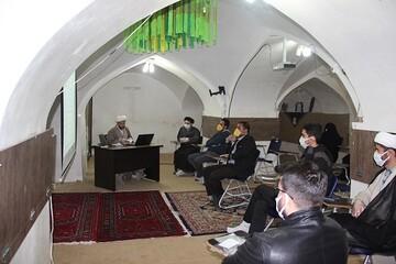 آموزش تغسیل اموات کرونایی به طلاب جهادی قزوین