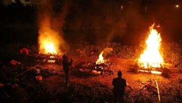 جنازه دو مسلمان سریلانکایی مبتلا به کرونا سوزانده شد!