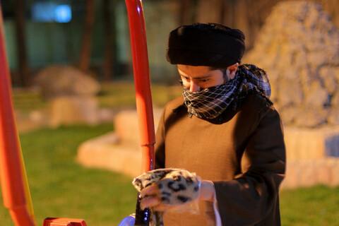 ضد عفوی معابر بیرجند توسط اساتید و طلاب مدرسه علمیه امام حسن مجتبی(ع)