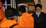 فیلم   حضور عضو شورای حوزه علمیه یزد در جمع طلاب جهادی