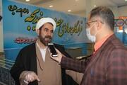 تقدیر مدیر حوزه خواهران قزوین از بانوان طلبه جهادی