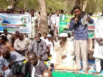 تجمع شیعیان ایالت سوکوتو نیجریه به منظور آزادی شیخ زکزاکی از زندان +تصاویر