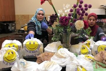 فعالیتهای انجمن اسلامی میلواکی آمریکا در بحران کرونا + تصاویر