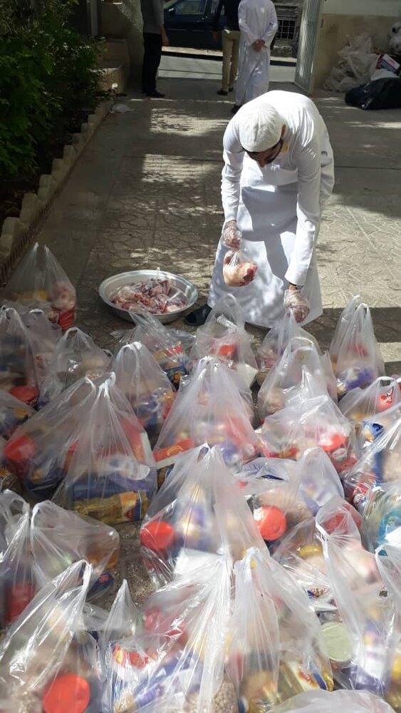 خدمات جهادی طلاب غیرایرانی مدرسه امیرالمومنین(ع) در روزهای کرونایی