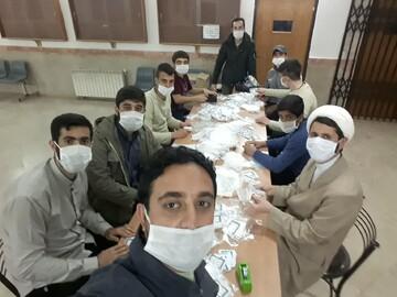 تصاویر شما/ خدمات جهادی طلاب و روحانیون در مبارزه با کرونا