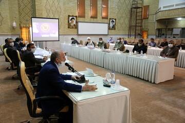 تصاویر/ چهاردهمین جلسه اجرایی دستورالعمل بسیج ملی مبارزه با کرونا در قم