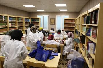 کلیپ | خدمات جهادی بانوان طلبه مدرسه علمیه الزهراء(س) کوی نصر تهران