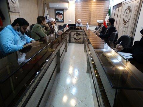 دومین نشست قرارگاه جهادی مرکز خدمات حوزه علمیه تهران