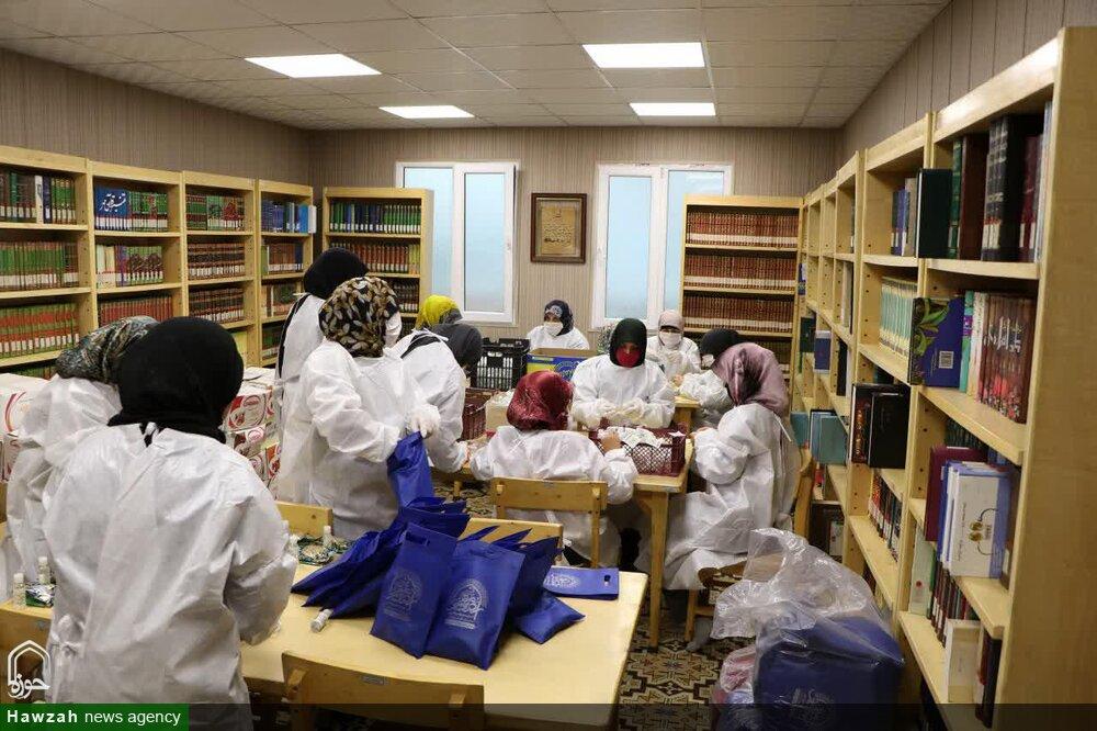 خدمات جهادی بانوان طلبه مدرسه علمیه الزهراء(س) کوی نصر تهران