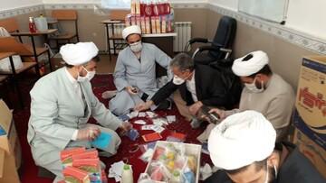 فیلم |  خدمات گروه جهادی مدرسه علمیه امام صادق(ع) بیجار