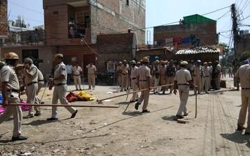 تیراندازی افراد ناشناس روبروی مسجدی در هند