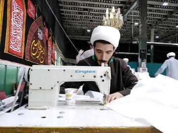 فیلم   خدمات جهادی طلاب مدرسه علمیه امام حسن عسکری(ع) عبدل آباد تهران