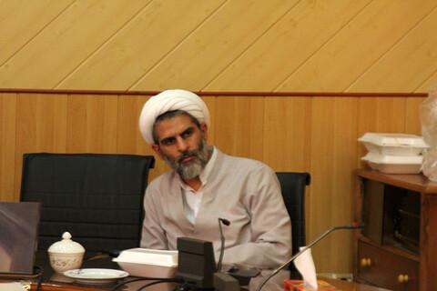 اجتماع أعضاء مجلس التبليغ الديني للحوزة العلمية في محافظة همدان غربي إيران