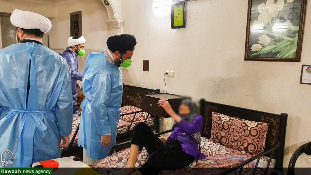 طوفان همدلی قرارگاه جهادی طلاب اصفهان علیه کرونا