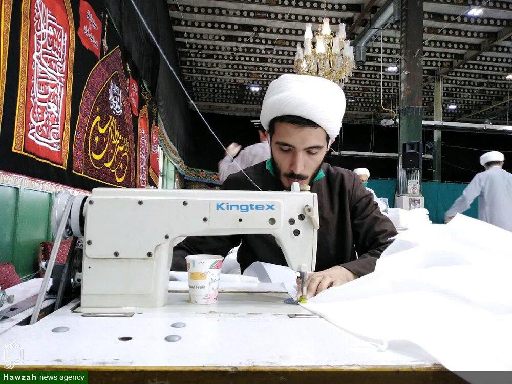 فیلم | خدمات جهادی طلاب مدرسه علمیه امام حسن عسکری(ع) عبدل آباد تهران