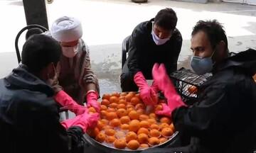 کلیپ | خدمات طلاب و جوانان مسجد جوادالائمه(ع) اهواز در روزهای کرونایی