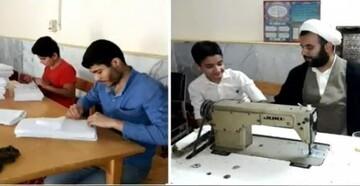 کلیپ | فعالیتهای جهادی دانشجویان دانشگاه معارف اسلامی در مبارزه با کرونا