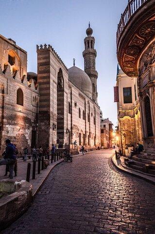 تور مجازی گردشگری از مسجد باستانی سلطان برقوق در مصر