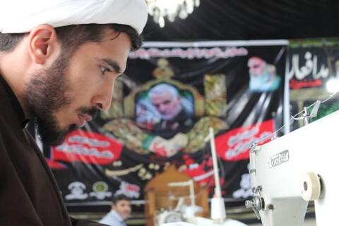 تصاویر شما/ حضور داوطلبانه طلاب جهادی سراسر کشور در میدان مبارزه با کرونا