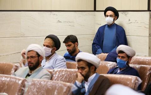 گردهمایی  و تجلیل از روحانیون روانشناس جهادی حاضر در بیمارستانها و آرامستانهای قم
