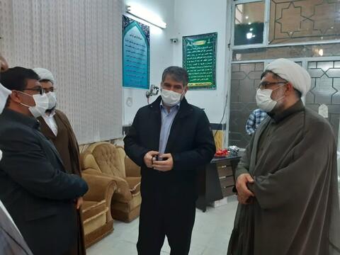 تصاویر/ بازدیدنماینده مردم کاشان از فعالیت جهادی روحانیون و جوانان مسجد امام حسن مجتبی(ع) کوی شهید خاندایی کاشان