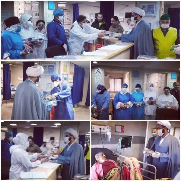 تصاویر/  تجلیل از ۳ هزار پرستار و کادر درمانی توسط نمایندگان آیت اله نورمفیدی