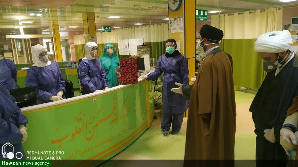 تصاویر/ حضور مدیران حوزه لرستان در جمع مدافعان سلامت شهرستان دورود