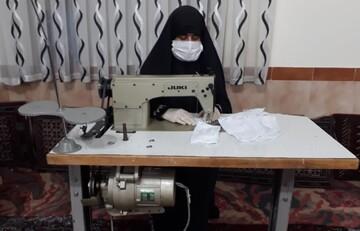 فیلم/ فعالیتهای جهادی طلاب خواهر شبستر در ایام کرونا