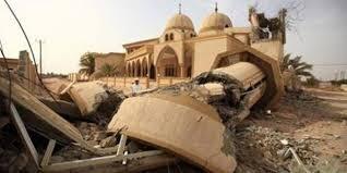تخریب ۳۹ مسجد در بحرین توسط رژیم آلخلیفه + تصاویر