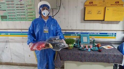 خدمترسانی طلاب جهادی در بیمارستانهای قم