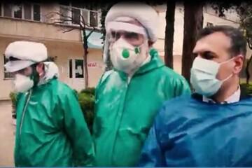 فیلم/ بازدید مدیر حوزه علمیه قزوین از  آرامستان و بیمارستانهای قزوین در نیمه شعبان
