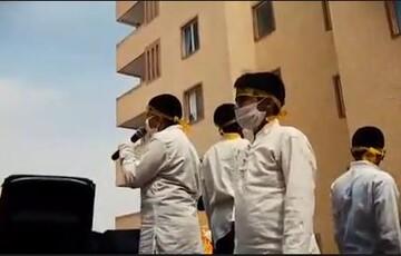 فیلم| نوجوانان مهدوی سکوت کرونا را شکستند