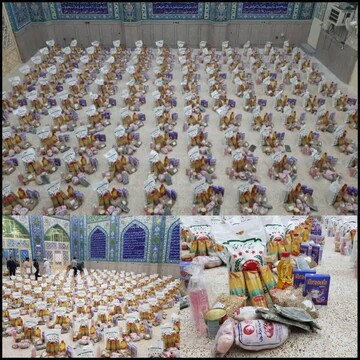 تهیه و توزیع ۱۵۰ بسته معیشتی بین نیازمندان دزفولی