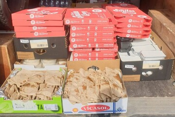 Mosque arranges pizza and curry treat for Huddersfield Royal Infirmary's coronavirus heroes