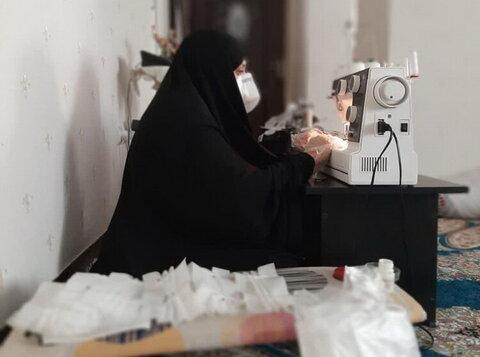 فعالیت طلاب جهادی مدرسه خواهران حضرت خدیجهکبری(س) پرند