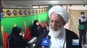 فیلم  تجلیل امام جمعه یزد از خادمیاران رضوی