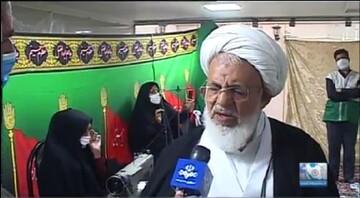 فیلم| تجلیل امام جمعه یزد از خادمیاران رضوی