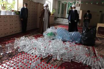 پکها و بستههای بهداشتی بین مردم شهرستان قروه توزیع شد