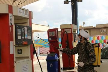 تصاویر/ گروه جهادی بسیج طلاب و روحانیون کردستان در مبارزه با کرونا