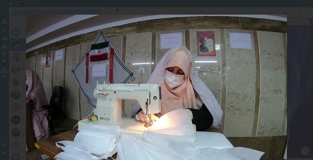 گزارشی از فعالیت های مدرسه علمیه ریحانه الرسول علیهما السلام تهران در مبارزه با شیوع کرونا
