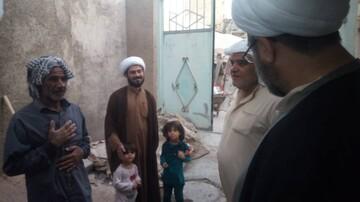 بازدید و تفقد مدیر حوزه علمیه خوزستان از مبلغان مناطق محروم+عکس